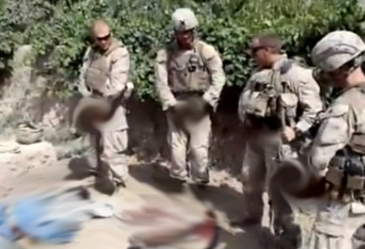 *NSFW VIDEO* Charges Dropped Against Marine Who Urinated On Taliban Insurgent