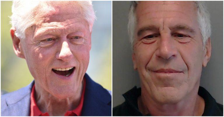 REPORT: Jeffrey Epstein Had Large Portrait of Bill Clinton Wearing Monica Lewinsky's Dress