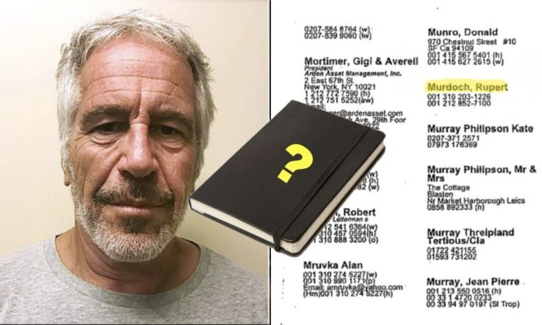 Remember Epstein's 'Little Black Book'? Well, It Turns Out That No One In Jeff's 'Little Black Book' Knew The Guy