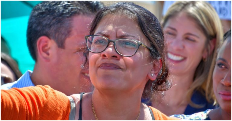Tlaib Poses for Photos & Meets With Anti-Israel, Terror-Supporting Group – MSM Dead Silent
