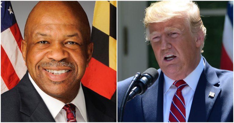 Man Wonders If Trump's Tweets Contributed to the Death of Democrat Rep. Elijah Cummings