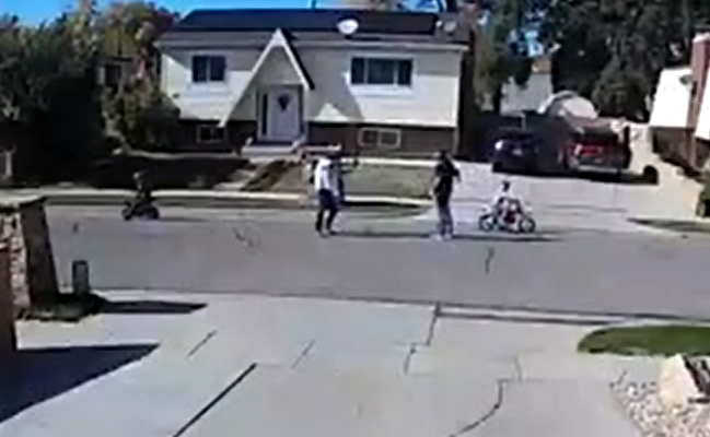 Man Shoots at Father After Punching 6 year Old!