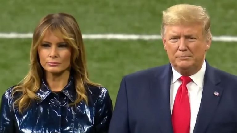 Liberals Furious Over Greeting for Trump at NCAAF Championship Game