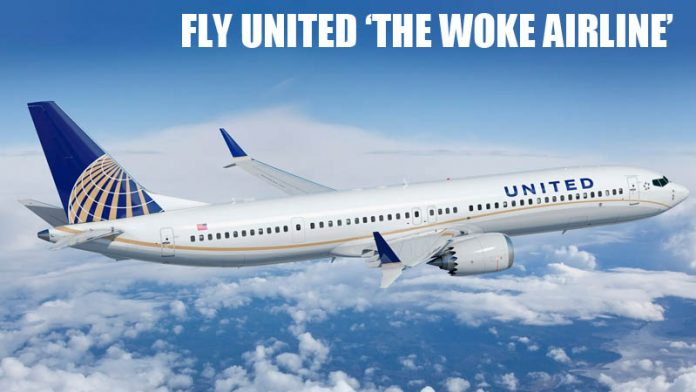 United Airlines Takes Woke Corporate Pandering To New Heights