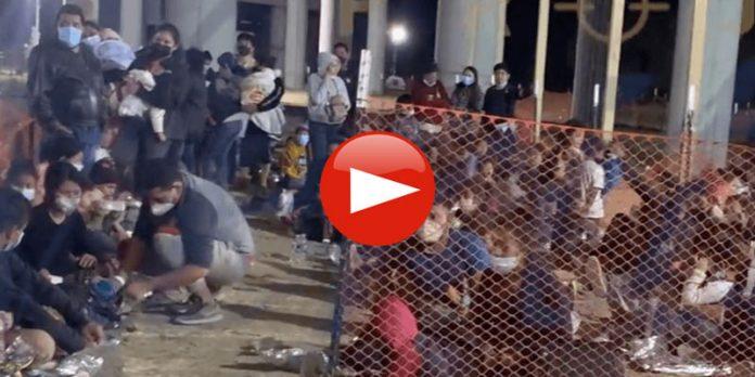 Video Shows Biden Herding Migrant Children Like Farm Animals